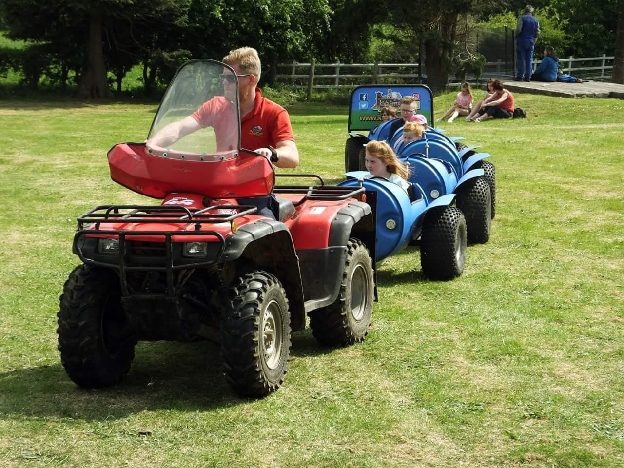 Check out our Quad Train!
