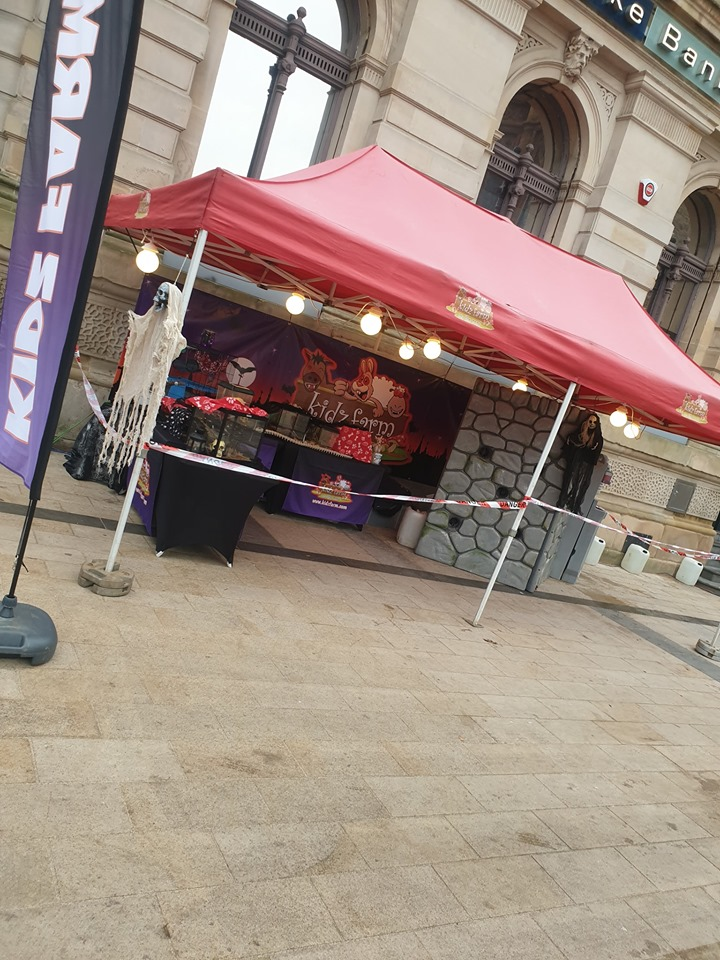 And its here.. Halloween day. Come along and catch us at the Guildhall today 12 – 7pm ?????
