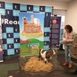 Our next Register to vote and pet lovely Daisy the goat. UUSU Jordandstown.