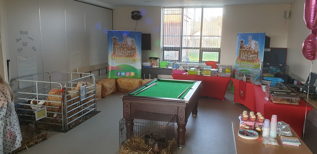 Standard package indoors.🐣🦆🐇🐑 Pool table is not part of our package 💭🤔 yet lol🤔🤔at Pennyburn Youth Club.