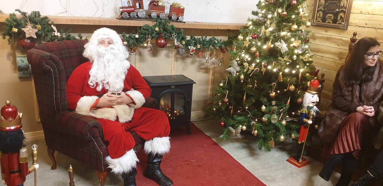 Read more about the article An amazing set up for Santa tonight ??